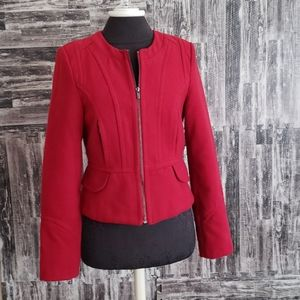 Express Red Size Small Fitted Jacket VGUC